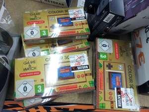 [Lokal Saturn Potsdam] Game & Watch 20€, Xbox-Spiele wie Crash Bandicoot 4, Tony Hawk's Pro Skater (je 15€), Call of Duty (20€) und weitere
