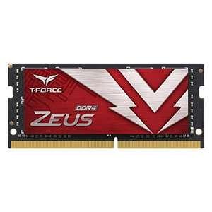 TeamGroup Zeus SO-DIMM RAM 32GB, DDR4-3200, CL22-22-22-52 (TTZD432G3200HC22-S01)