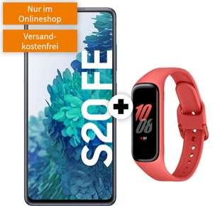 Vodafone Netz: Samsung Galaxy S20 FE Snapdragon 8/256GB (!) + Galaxy Fit 2 im green LTE 10GB bis 50Mbit/s für 24,99€ monatlich, 49€ einmalig