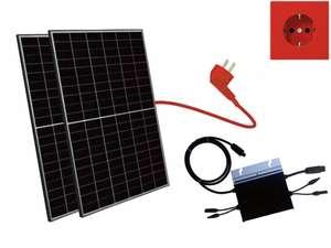 [Alpha Solar] 600W Balkonkraftwerk - Hoymiles HM-600 und 2x JA Solar 340Wp - Selbstabholung