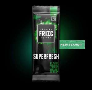 Frizc Superfresh Aromakarten 5 Stück Freebie