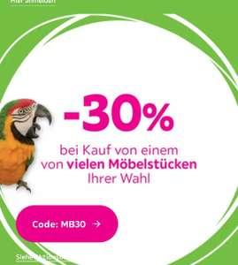 30% Gutschein auf Möbel bei Mömax