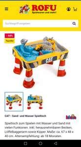 CAT - Sand- und Wasser Spieltisch