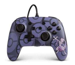 PowerA Nintendo Switch Wired Controller (Mewtwo & Glumanda) für je 14,99€ (Amazon Prime)