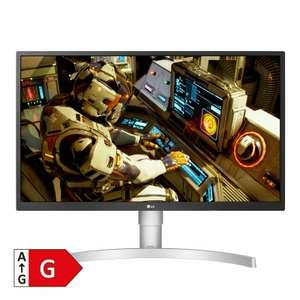 "LG 27UL550-W 27"" 4K IPS Monitor (250cd/m² , 60Hz, 5ms, ergonomisch, Pivot, AMD FreeSync, VESA, 99% sRGB)"