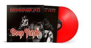 (Prime) Deep Purple - Copenhagen 1972 (3fach Red Vinyl LP)