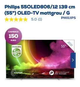 55 Zoll Philips Oled 806 Matt Grau