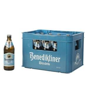Benediktiner hell 20x 0,5L für 13€ / K-Classic Kalifornische Pistazien 400g & naturbelassene Wallnüsse 500g für je 3,99€ [Kaufland ]