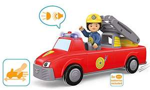 Toddys by siku, Harry Helpy, 3-teiliges Feuerwehrauto mit Licht & Sound inkl. beweglicher Spielfigur für 17,99€ (Amazon Prime)