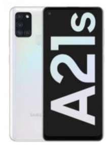 Vodafone Netz: Samsung Galaxy A21s 32GB LTE Weiß + 30€ Amazon Gutschein + 50€ Rufnummermitnahme im crash Allnet/SMS Flat 7GB LTE