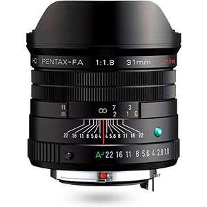 Pentax HD FA 31mm F1.8 Limited Objektiv schwarz