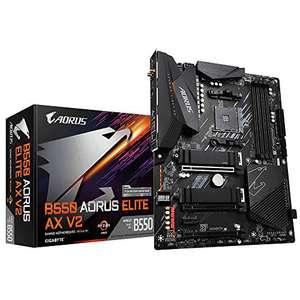 GIGABYTE B550 AORUS Elite AX V2 Mainboard (ATX, AMD B550, 4xDDR4, 2.5GBase-T, WiFi 6)
