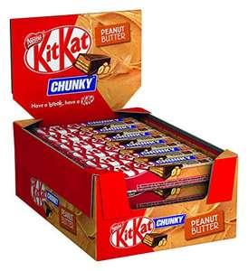 [Sparabo] Nestlé Kitkat Chunky Peanut Butter Schokoriegel (24 x 42g)