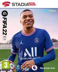 [Stadia Pro] FIFA 22 Kauf mit 10€ NeukundInnenrabatt