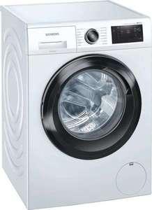 Siemens iQ500 WM14UR5EM 9kg Waschmaschine (1400Upm, A+++/C, AquaStop, Mengenautomatik, Kindersicherung, Nachlegefkt.) - Lieferung Wunschort