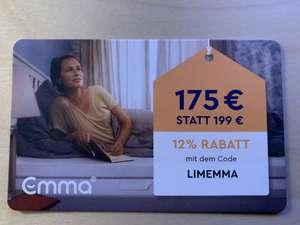 [Emma One-Shop] 12% auf Emma One Matratzen bis 31.12.2021