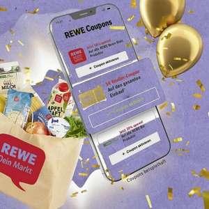[REWE] 5,00€ Rabatt-Coupon in der Rewe App für einen Einkauf ab 40,00€ am Freitag 08.10.21