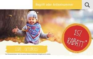 25% Rabatt bei giomio.de (Holz- und Lernspielzeug)