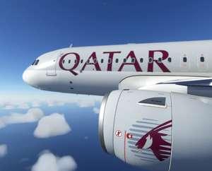Qatar Airways Flugbuchung mit bis zu 12% Rabatt bei Bezahlung per PayPal
