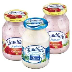 Landliebe Frucht- oder Naturjoghurt 500g für 0,35€/0,38€ [KAUFLAND ab 14.10.21 / HIT ab 11.10.21]
