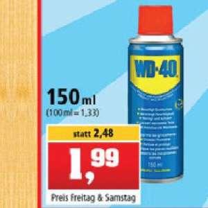 WD-40 Multifunktionsspray 150 ml Dose (13,26⅔€/l)