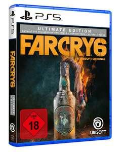Far Cry 6 - Ultimate Edition (PS4/5 & Xbox, Hauptspiel + Season Pass + DLC-Gedöns)