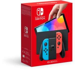 Nintendo Switch OLED in Weiß oder Schwarz