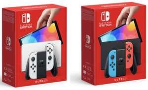 NINTENDO Switch OLED Modell beide Farben für je 319,99€ inkl. Versandkosten [Cdiscount Volonte]