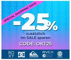 Planet Sports 25% auf Sale Artikel
