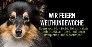 20% auf Hundefutter