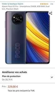 POCO X3 Pro 8/256 schwarz bei Amazon Frankreich
