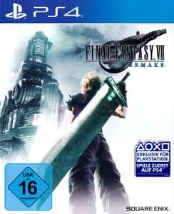 Final Fantasy VII Remake (PS4 inkl. PS5 Upgrade) für 27,99€ per Abholung (Gamestop)