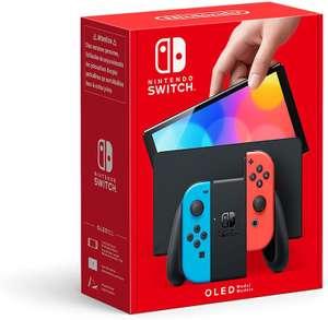 Nintendo Switch OLED (Rot/Blau & Weiß)   312€ bei Erstnutzung der App!