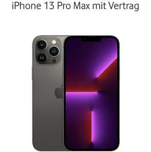 [Gigakombi + Young + Unidays] Vodafone iPhone 13 Pro Max mit 256 GB und Young L 40GB + Pass nach Wahl