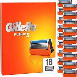 Gillette Fusion 5 - 18 Klingen - 1,74€ pro Stück