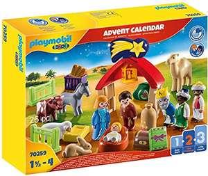 PLAYMOBIL Adventskalender 70259 Weihnachtskrippe mit liebevollen Figuren