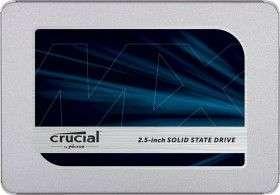 "Crucial MX500 500GB SSD (2.5"", SATA, TLC, R560/W510, 512MB Cache, 180TBW / 5J Garantie)"