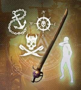 New World Piratenpaket #2 Loot-Paket (PC) kostenlos (Prime Gaming)