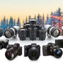 Sony Winter Cashback-Aktion: Alpha Kameras (150-300€), Objektive (50€-400€) und diverses Zubehör (20-70€)