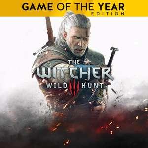 The Witcher 3: Wild Hunt – Game of the Year Edition (PS4) für 9,99€ & Standard für 5,99€ (PSN & Xbox Store)