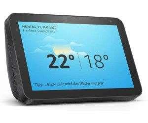 AMAZON Echo Show 8 Smart Display mit 8 Zoll großem HD-Bildschirm Smart Speaker, Anthrazit Stoff [Mediamarkt & Saturn]