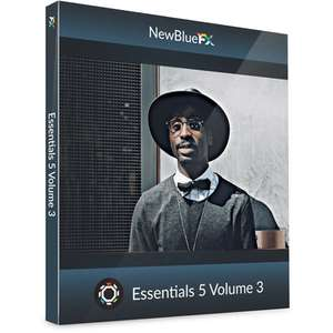 Newblue Essentials 5 Volume 3 - Video Plugin für Adobe, Vegas, Avid kostenlos