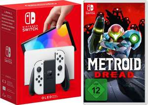 Nintendo Switch Oled bei OTTO inklusive Metroid Dread