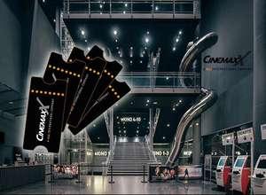 """5 CinemaxX-Kinogutscheine für 29,99€ (nur """"2 D-Filme"""" inkl. Logen- & Reservierungszuschlag, 31 teilnehmende Filialen)"""