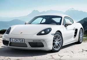 Privatleasing: Porsche Cayman 718 / 300PS (konfigurierbar) für 515€ (eff 538€) monatlich - LF:0,91