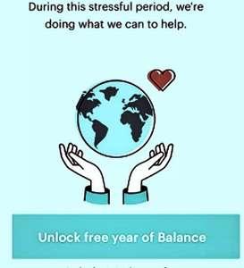 [android + ios] Balance: Meditation & Sleep | 1 Jahr kostenlos