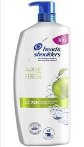 5x Head & Shoulders XXL Apple Fresh Anti Schuppen Shampoo, 900ml, je 6,27€ (prime, Spar Abo, Aktion)