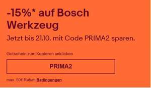 15% Rabatt auf Bosch Blau   Bosch Tauchsäge mit Führungsschiene nur 389,95 Euro