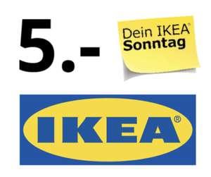 IKEA Berlin-Tempelhof: 5€ Gutschein (ab 25€) zum verkaufsoffenen Sonntag