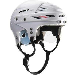 Eishockey-Sammeldeal, z.B. Oroks Eishockey-Helm IH 500 Erwachsene, Größe M (54-58 cm) Farbe Weiß [Decathlon]